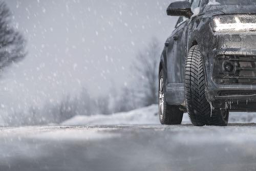 zimních pneumatik